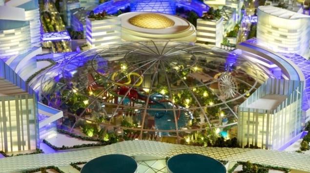 Città ad aria condizionata Dubai