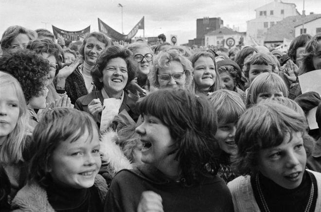 Sciopero delle donne in Islanda