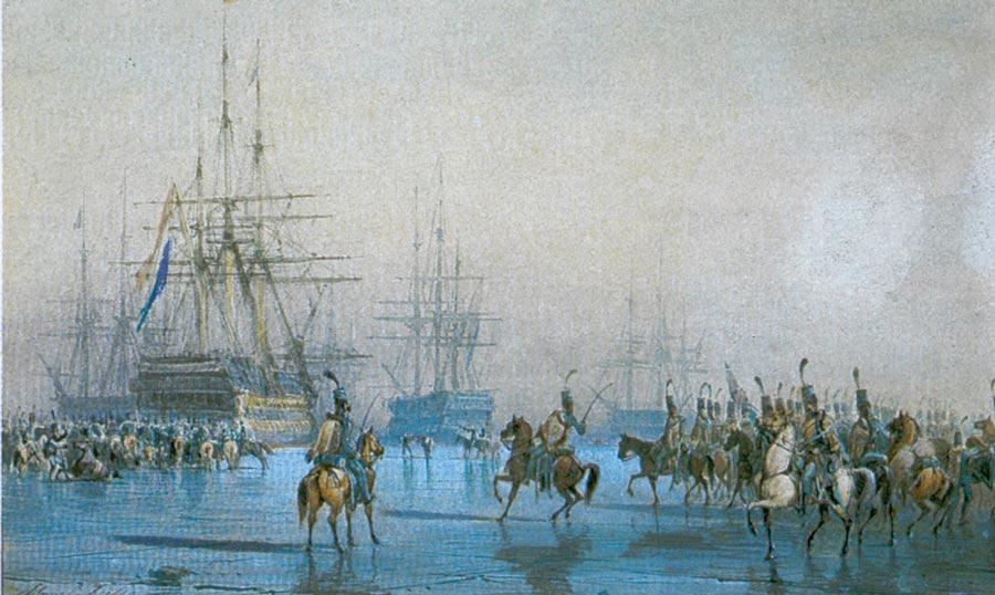 Cattura della flotta olandese da parte della cavalleria francese, 1795