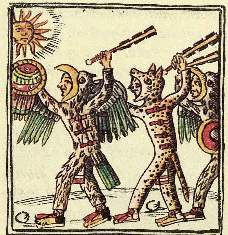 Spada azteca macuahitl
