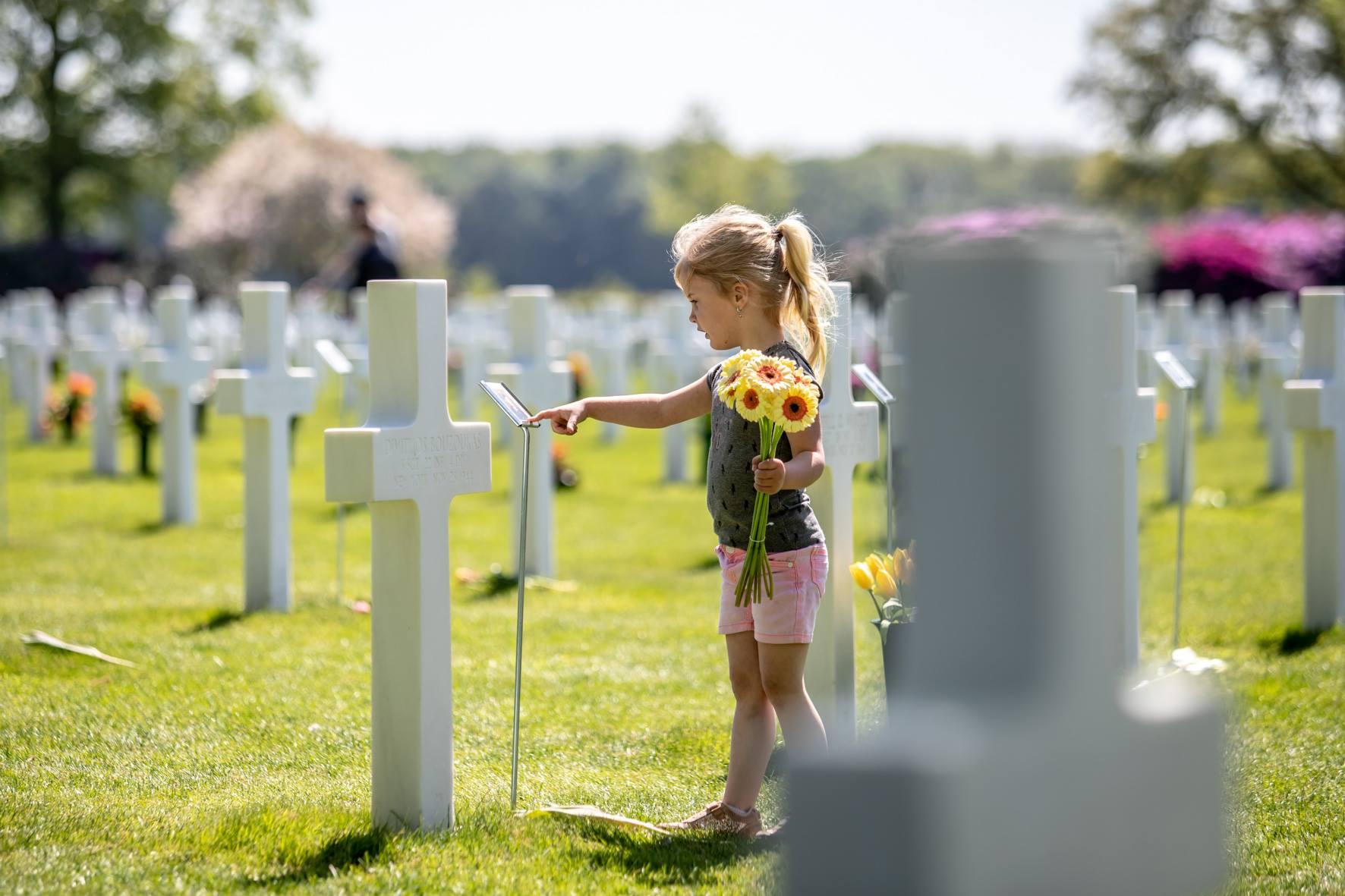 Netherlands American Cemetery di  Margraten, Olanda
