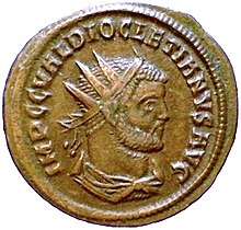 Moneta emessa da Diocleziano