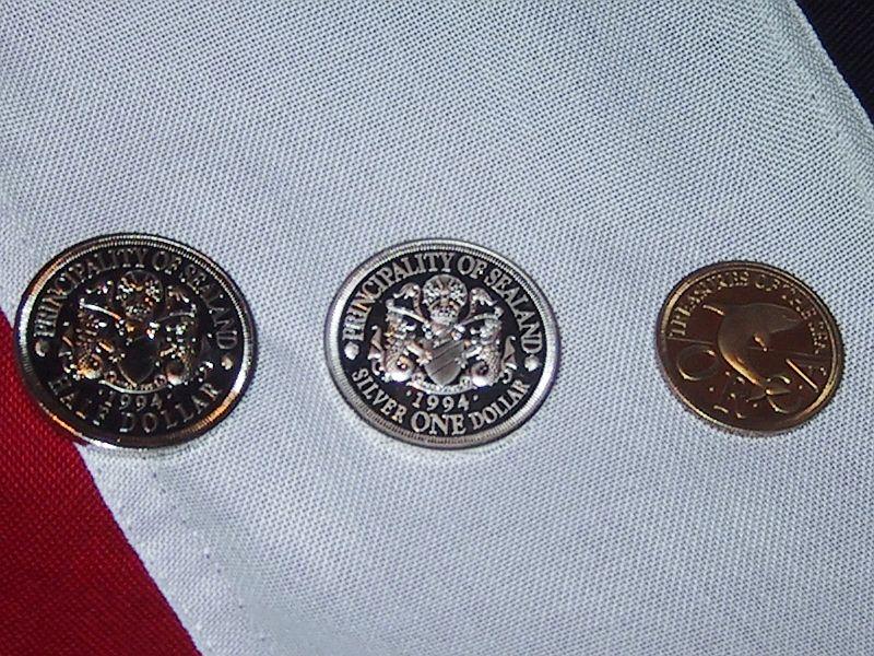 La moneta ufficiale di Sealand