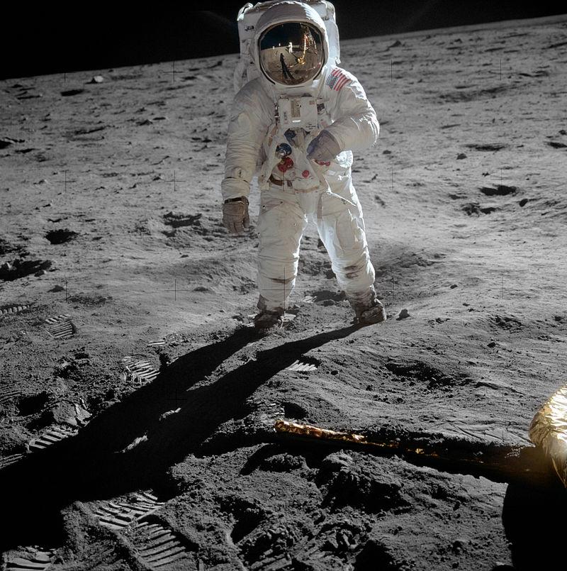 Una foto della missione dell'Apollo 11