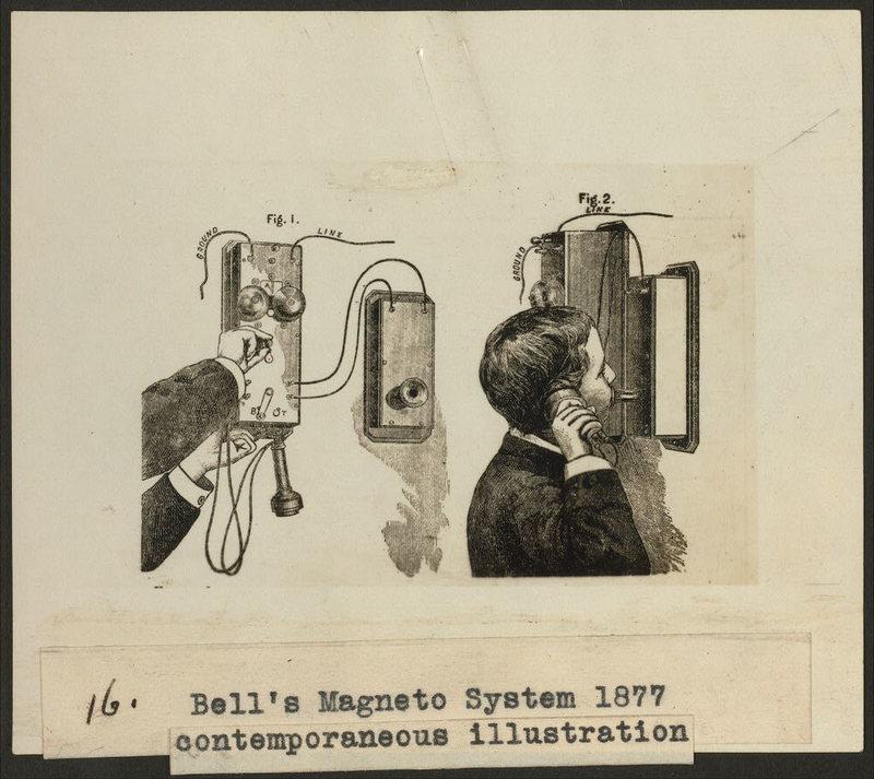 Un'illustrazione del Bell's Magneto System