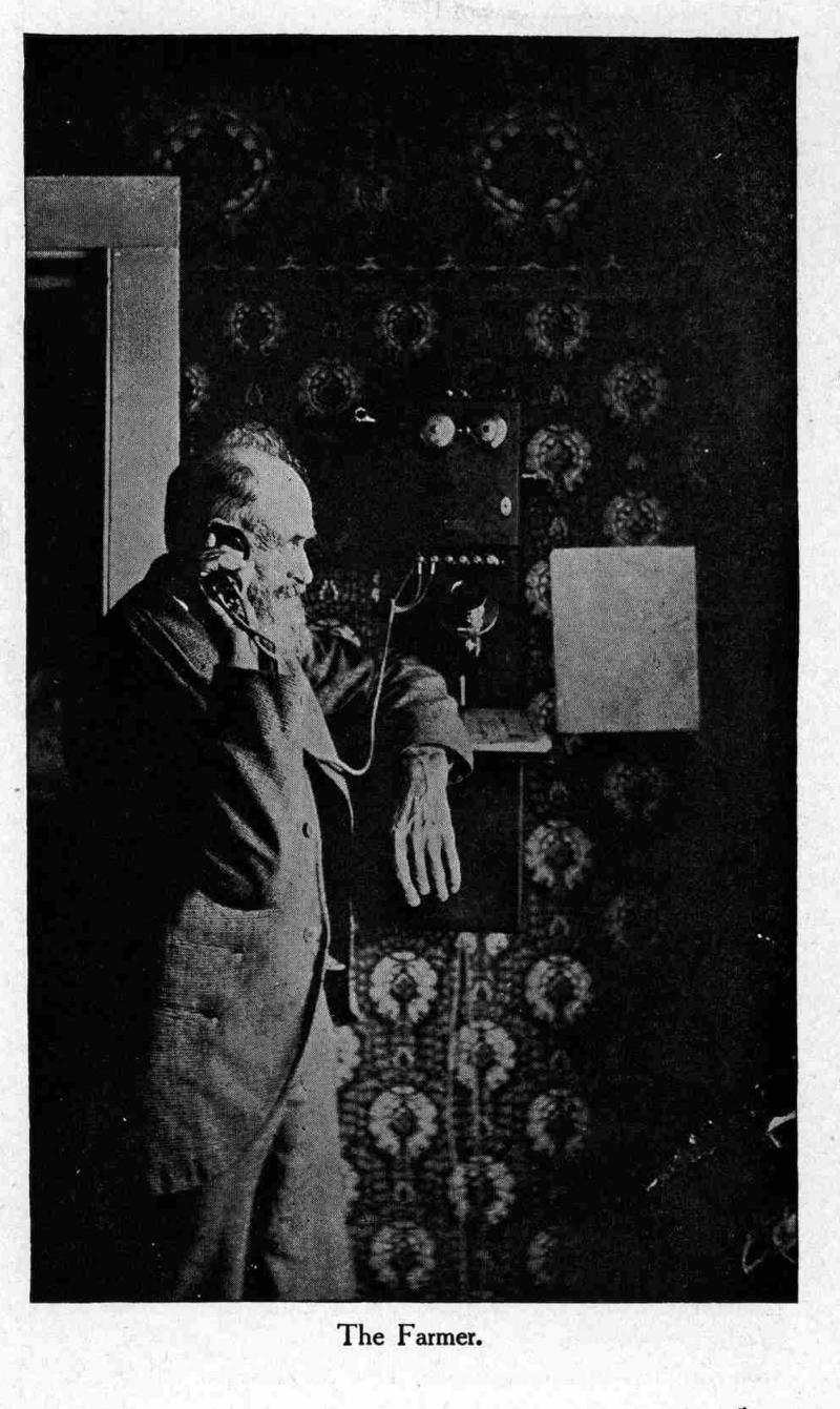 Il contadino in una brochure della Bell nel 1904  // LIBRARY OF CONGRESS