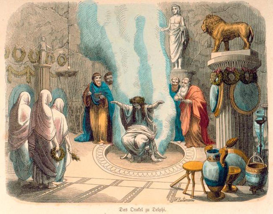 La Pizia circondata dai vapori, di Heinrich Leutemann