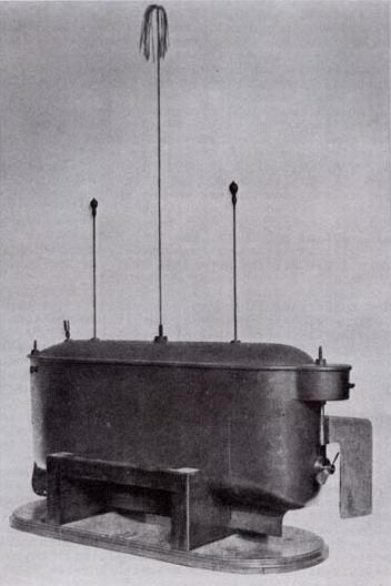 La piccola imbarazione radiocomandata brevettata da Tesla nel 1898