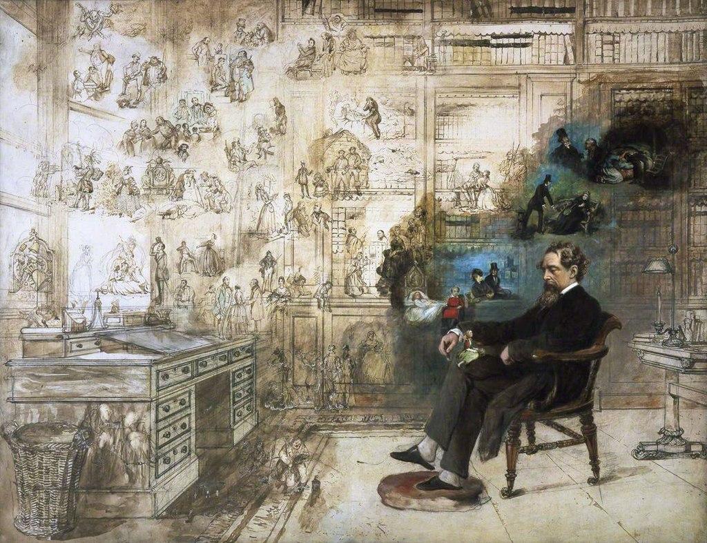 Il sogno di Dickens di  Robert William Buss