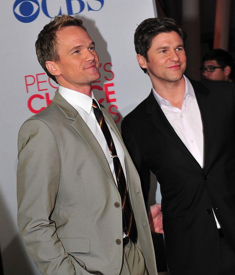 Neil Patrick Harris assieme al marito David Burtka.