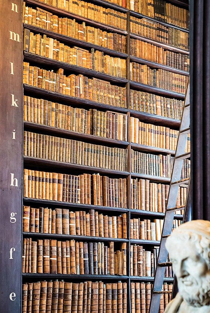 biblioteca trinity college dublino.  Long Room, Old Library