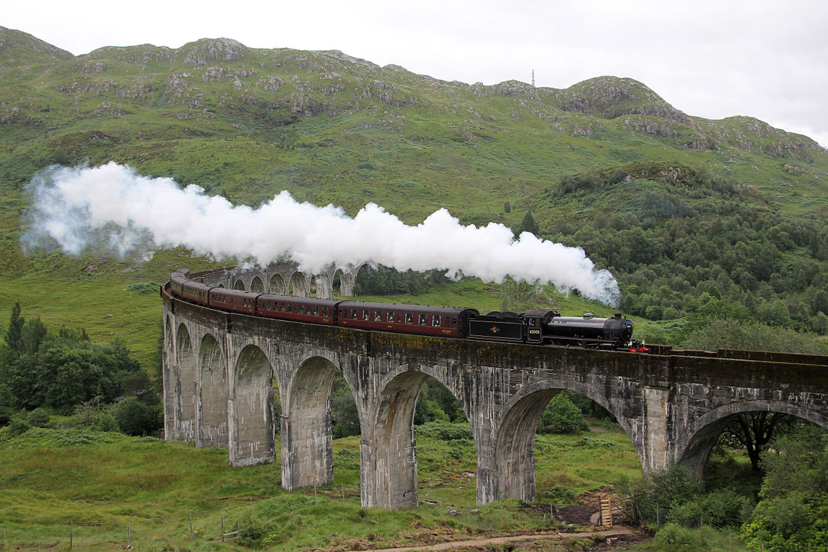 treno a vapore giacobita harry potter