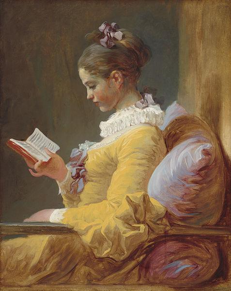 Jean-Honoré Fragonard, La Lettrice (1770-1772)