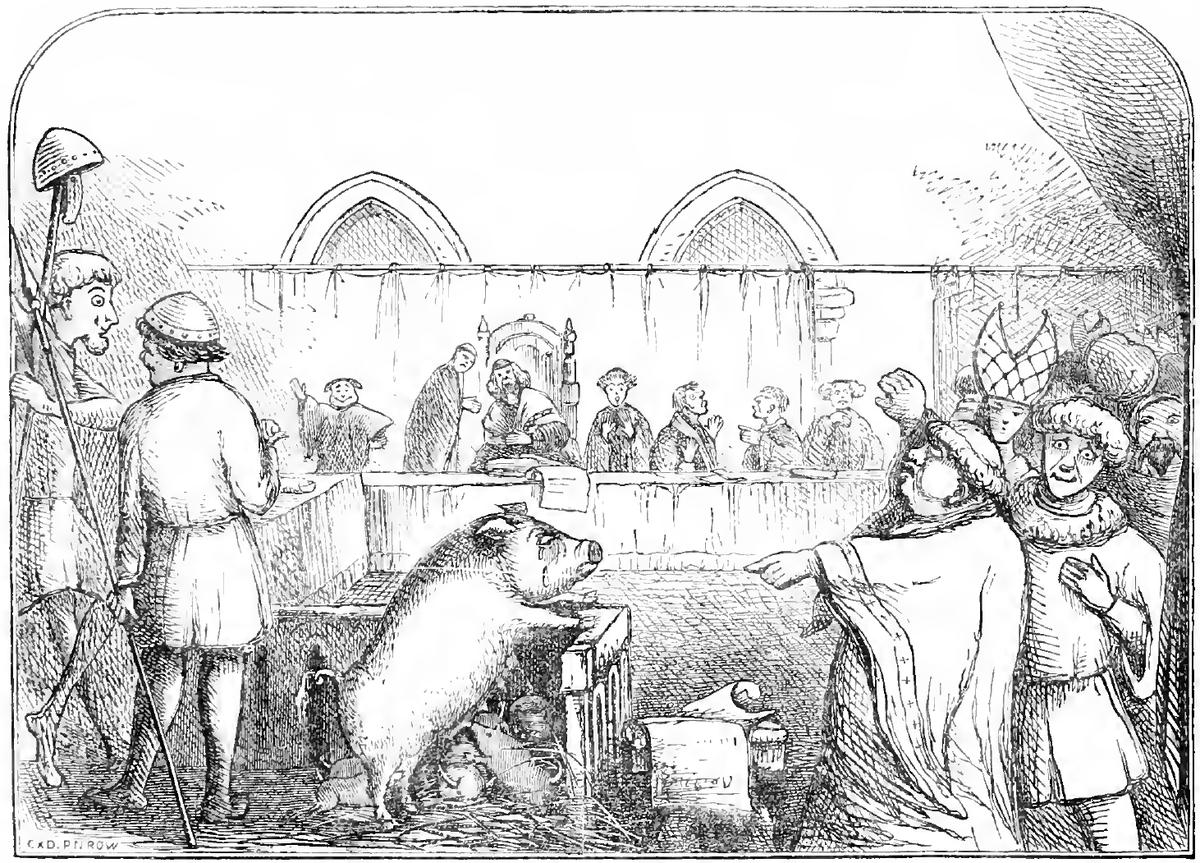 Processo a maiali a Lavegny