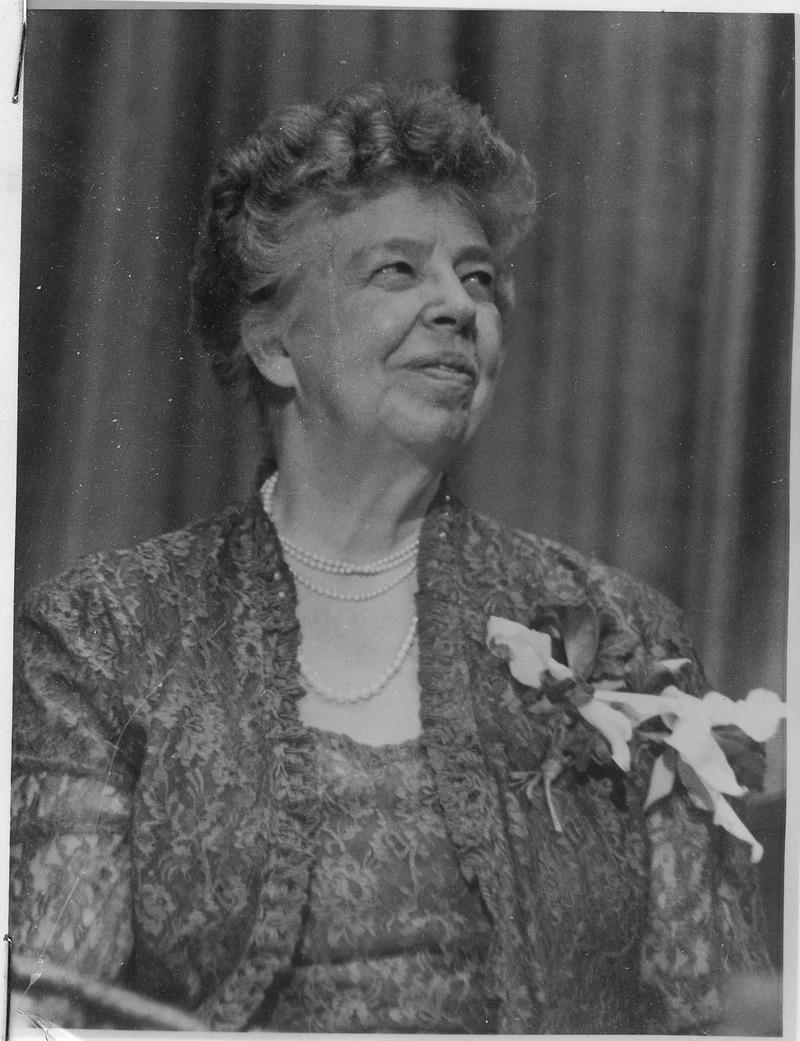 Eleanor Roosevelt nel 1950