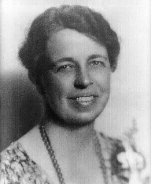 Eleanor Roosevelt nel 1933