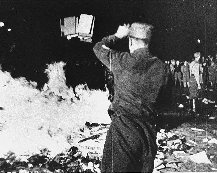 Roghi di libri nazisti