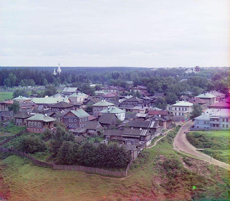 Razguliai, nei sobborghi della città di Perm, 1910