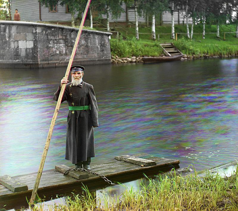 Pinchas Kaplinskiy, supervisore di una chiusa a Chernigov, 1910