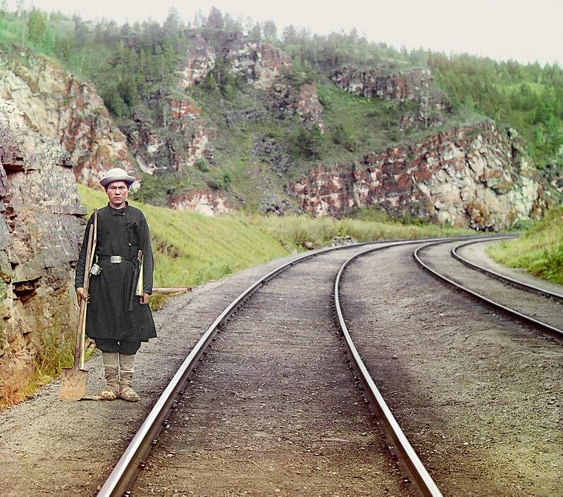 Deviatore Bashkir vicino a Ust-Katav, 1910