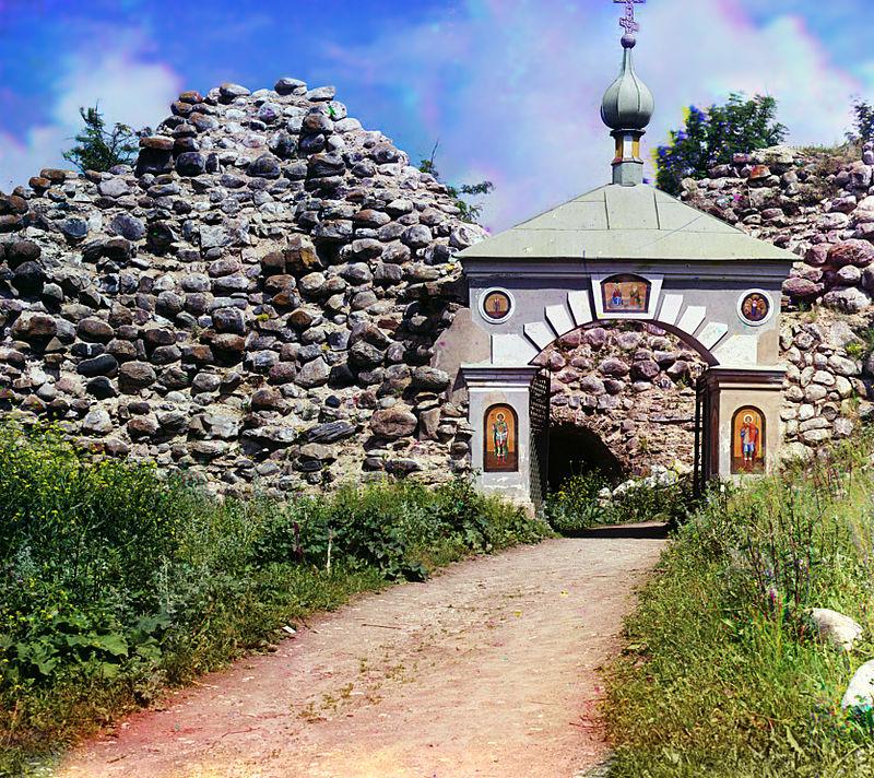 Rocca Staraya Ladoga, 1909