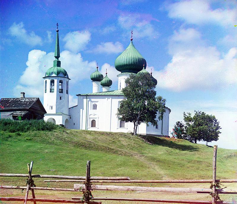 Chiesa di San Giovanni Battista sulla collina Malyshevaya; Staraya Ladoga, 1909