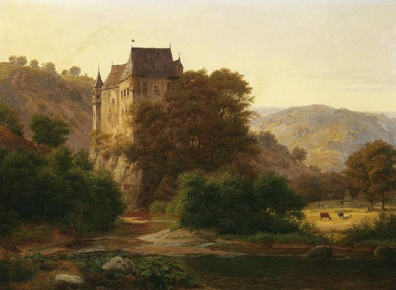 Dipinto del castello di Eltz