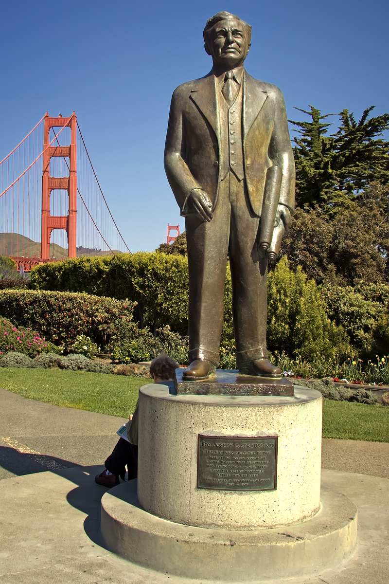 The Joseph Strauss Memorial a San Francisco